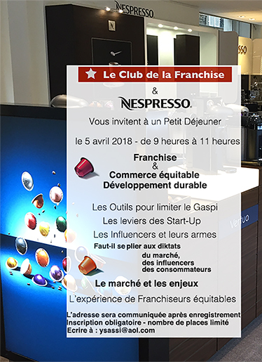 Invitation Nespresso 2