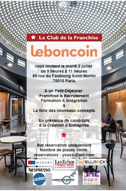 Invitation LeBonCoin
